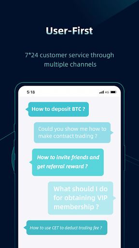 CoinEx - A Trustworthy Cryptocurrency Exchange android2mod screenshots 6