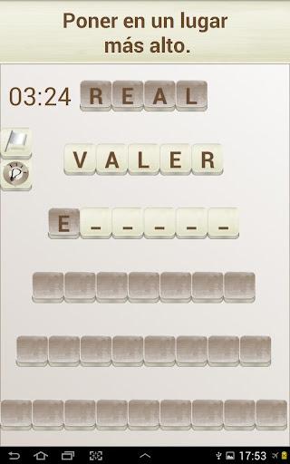 PALABRAS - Juego de Palabras en Espau00f1ol 1.2020 screenshots 5