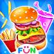 Kids Food Party - Burger Maker Food Games