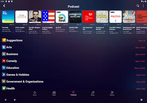 Audials Play u2013 Radio Player, Recorder & Podcasts 9.3.8-0-g714ebeffb Screenshots 10