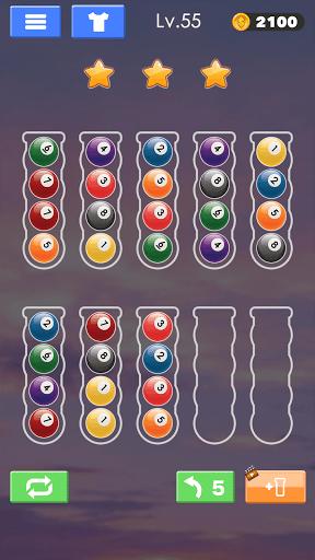 Sort Color Ball Puzzle - Sort Ball - Sort Color  screenshots 12