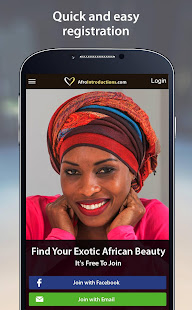 AfroIntroductions - African Dating App 4.2.2.3426 Screenshots 1
