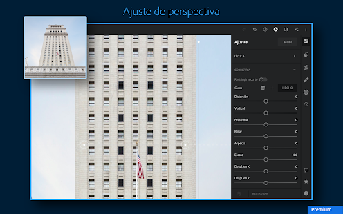 Adobe Lightroom - Editor de fotos Screenshot