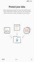 screenshot of Secure Folder