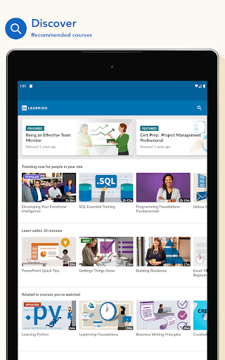 LinkedIn Learning: Online Courses to Learn Skills 0.163.25 Screenshots 9