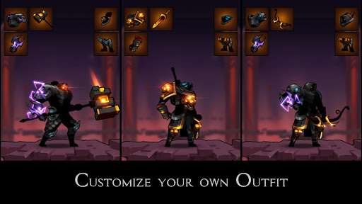 Stickman Master: League Of Shadow - Ninja Fight android2mod screenshots 2