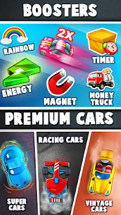 Merge Car - Idle Tap Clicker Merger Games Screenshot