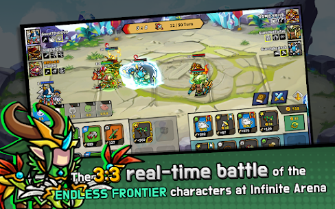 Endless Arena Mod Apk- Idle Strategy Battle (Unlimited Gold) 9