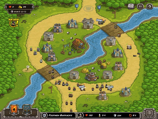 Kingdom Rush - Tower Defense Game  screenshots 13