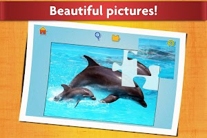 Animal Babies Jigsaw Puzzles Game - Kids & Adults