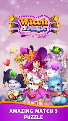 Witch & Magic: Match 3 Puzzleのおすすめ画像2