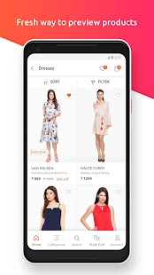 Shoppers Stop Fashion Shopping Screenshot