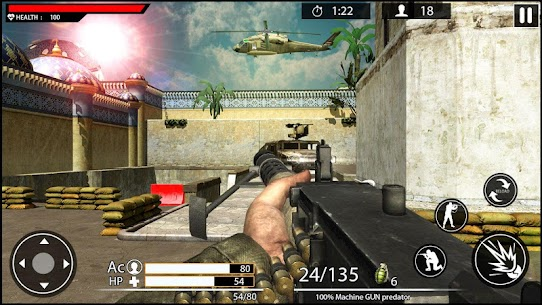 Machine Gun Shoot War Shooter 2k18 Game Hack Android and iOS 5