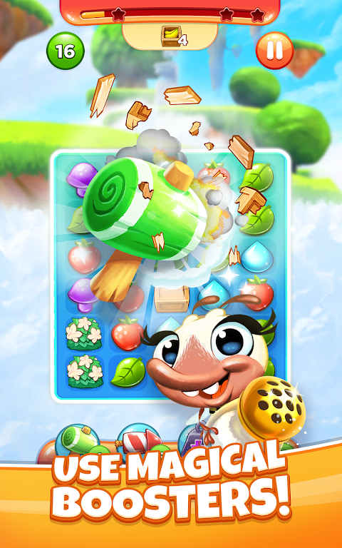 Best Fiends Stars - Free Puzzle Game poster 1