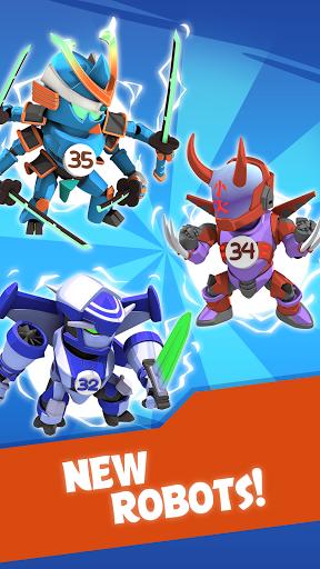 Merge Robots - Click & Idle Tycoon Games 1.6.5 screenshots 5