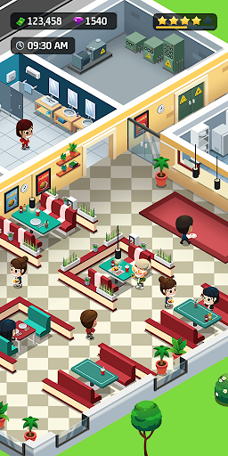 Idle Restaurant Tycoon - Build a restaurant empire  screenshots 5