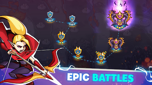 Empire Defender TD: Tower Defense The Kingdom Rush Apkfinish screenshots 9