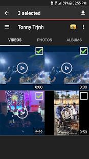 FaceLoader - Download videos photos for Facebook