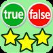 True or False Quiz - Androidアプリ