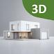Housee:モダンな家の計画、間取り図、デザイン