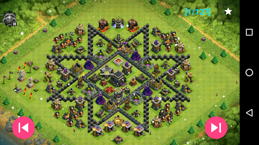 Maps of Coc TH9 1.1.3 Screenshots 5