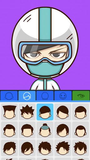 SuperMii - Cartoon Avatar Maker Apkfinish screenshots 14