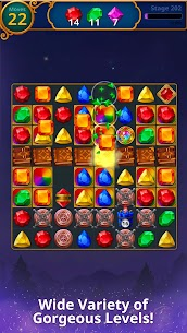 Jewels Magic Mod Apk: Mystery Match3 (Automatically Clear Stage) 8