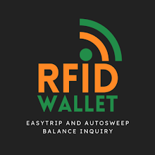 RFID Wallet: For AutoSweep and EasyTrip APK