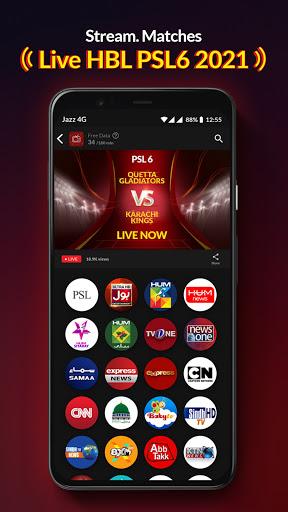 Jazz TV: Watch PSL 6, News, Turkish Dramas, Sports  Screenshots 10