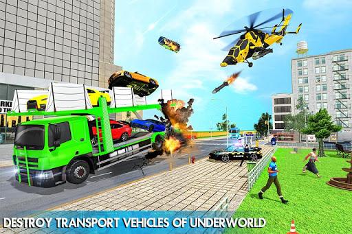 Helicopter Robot Transform War u2013 Air robot games  screenshots 3