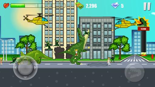Jurassic Dinosaur: City rampage 2.5 screenshots 1