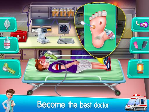 Ambulance Doctor Hospital - Rescue Game  screenshots 5