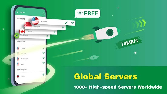 Monster VPN - Free Forever & Security VPN Proxy Screenshot