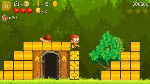 Super Kong Jump - Monkey Bros & Banana Forest Tale modiapk screenshots 1