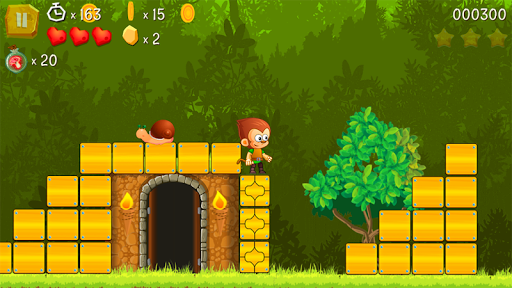Super Kong Jump - Monkey Bros & Banana Forest Tale  screenshots 1