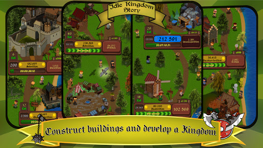Idle Kingdom Story: Medieval Tycoon Clicker 1.1.8 screenshots 1