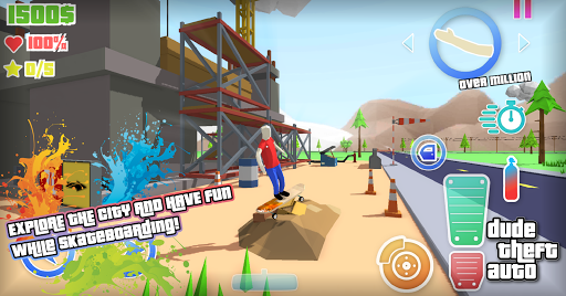 Dude Theft Wars: Open World Sandbox Simulator BETA goodtube screenshots 24