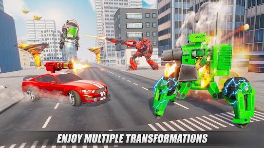 Tornado Robot games-Hurricane Robot Transform Wars 5