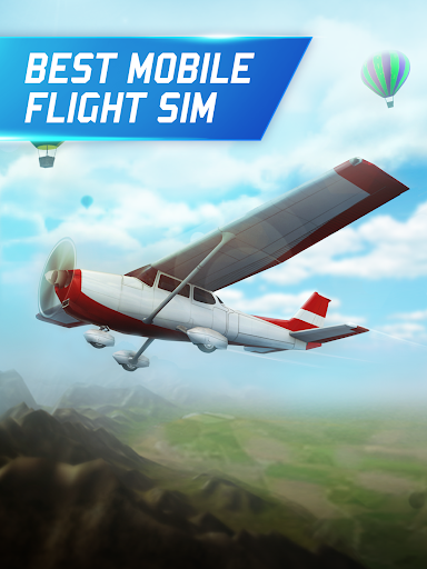 Flight Pilot Simulator 3D Free modavailable screenshots 2
