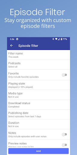 Podcast Republic - Podcast Player & Podcast App android2mod screenshots 7