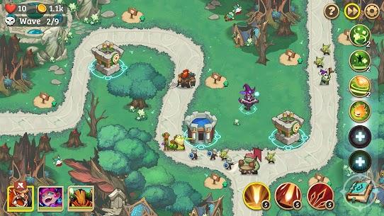 Empire Defender Strategy TD Offline Game Fantasy Apk Mod Download 4