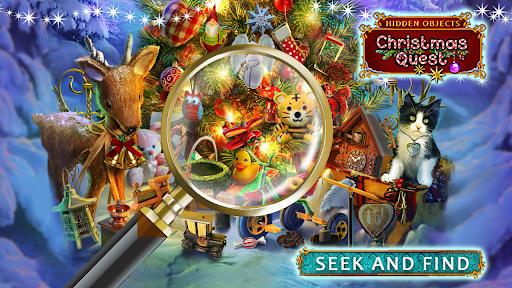 Hidden Objects: Christmas Quest screenshots 8