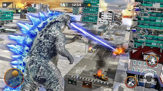 Dinosaur Rampage Attack: King Kong Games 2020 1.0.1 screenshots 10