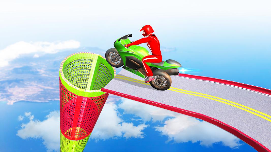 Bike Games 2021 : Racing Games 3D Moto Stunt