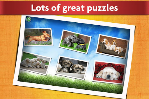 Dogs Jigsaw Puzzles Game - For Kids & Adults ud83dudc36 screenshots 2