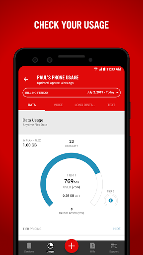 Virgin Mobile My Account 7.4.0 screenshots 5