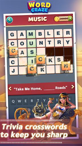 Word Craze - Trivia crossword puzzles 2.15 screenshots 1