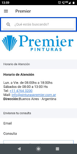 Premier Fabrica de Pinturas screenshot 1
