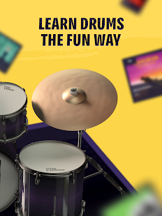 WeGroove: Drums games and music to play and learn