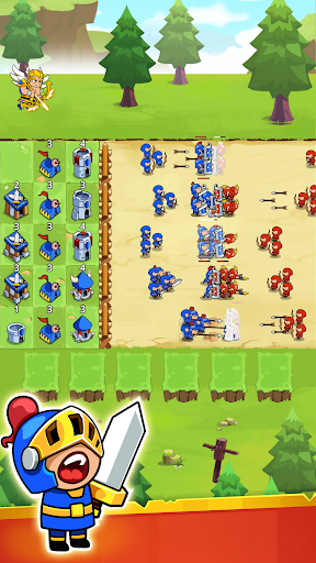 Save The Kingdom: Merge Towers  screenshots 3